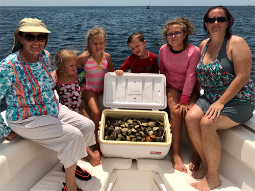 Angling Adventures Fun Family Scalloping Trips